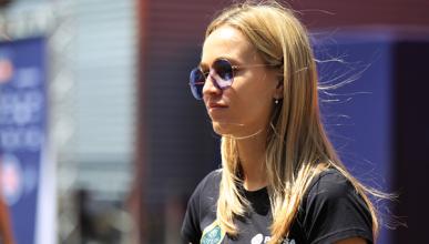 """Carmen Jordá responde: """"estaba a un segundo de Grosjean"""""""