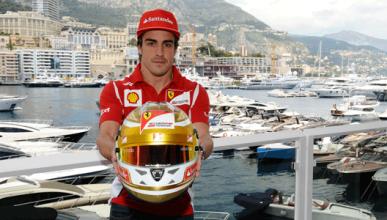 Casco - Fernando Alonso - GP Monaco - 2012
