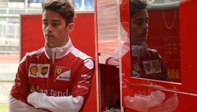 Charles Leclerc sorprende en sus primeros test en la F1