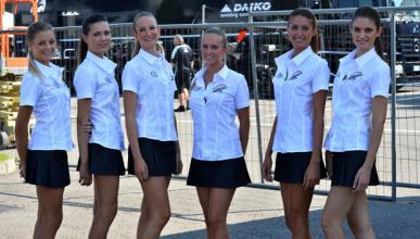 Las chicas del GP Italia 2014