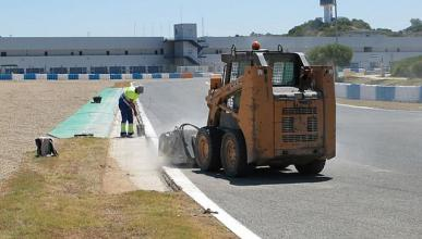 El Circuito de Jerez cambia su asfalto