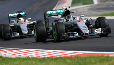 Clasificación GP Hungría. Rosberg roba la pole a Hamilton