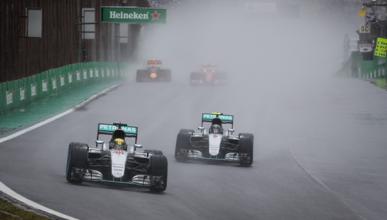 La clave del doblete de Mercedes en el GP Brasil 2016