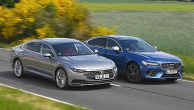 Volkswagen Arteon vs Volvo S90.