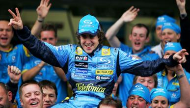 Se cumplen 10 años del primer título F1 de Fernando Alonso