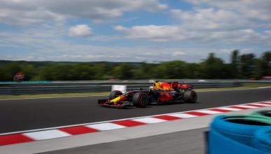 Daniel Ricciardo, en los Libres 2 de Hungría