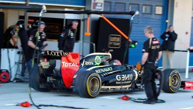 David Guetta conduce el Lotus de 2012 en Jerez