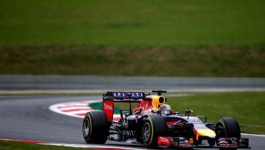 El desastre de Vettel en el GP Austria 2014