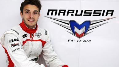 El día que Jules Bianchi llegó a la F1