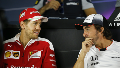 Resultado de imagen de Fernando alonso Vettel