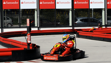 La escuela de karting de Alonso ya es una realidad