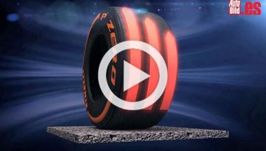 Etiqueta Pirelli temperatura F1