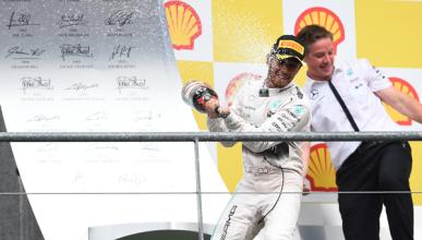 F1. Carrera GP Bélgica 2015: Hamilton bate a Rosberg