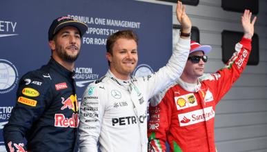 F1. Clasificación GP China 2016: Rosberg consigue la 'pole'