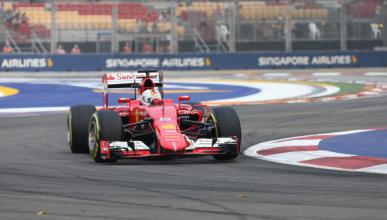 F1. Clasificación GP Singapur: Vettel consigue la pole