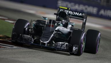F1. GP Singapur 2016, clasificación: Rosberg, en otro mundo