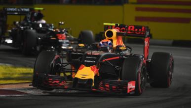F1. GP Singapur 2016, Libres 3: Red Bull, la gran amenaza