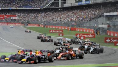 F1. Horarios GP Alemania 2016