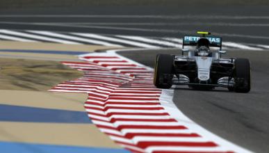 F1. Libres 1 GP Bahréin 2016: Rosberg comienza mandando