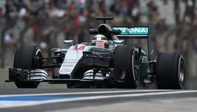 F1. Libres 1 GP Brasil 2015: Hamilton manda