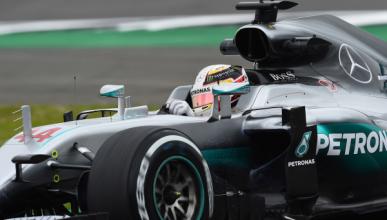 F1. Libres 1 GP Gran Bretaña 2016: igualdad entre Mercedes