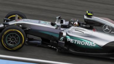 F1. Libres 2 GP Alemania. Rosberg se mantiene al frente