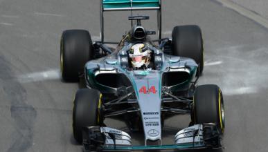 F1. Libres 2 GP Canadá 2015: Hamilton lidera y se accidenta