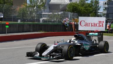 F1. Libres 2 GP Canadá 2016: Vettel, entre los Mercedes