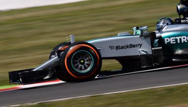 F1. Libres 2 GP Gran Bretaña: Rosberg repite en cabeza