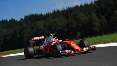 F1. Libres 3 GP Bélgica 2016: Räikkönen sorprende en Spa