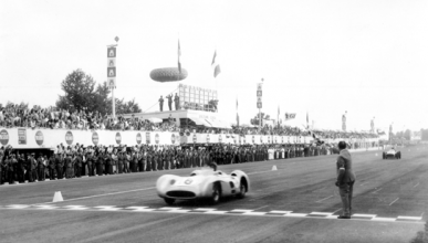 Fangio - Mercedes - Monza - 1955
