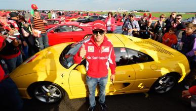 Felipe Massa - Ferrari - Record Guinness - Silverstone - 2012