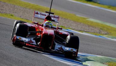 Felipe Massa Ferrari Tests Jerez 2013