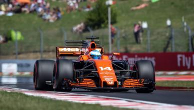 Fernando Alonso, en la clasificación para el GP de Hungría