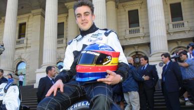 Fernando Alonso cumple 16 años en la Fórmula 1