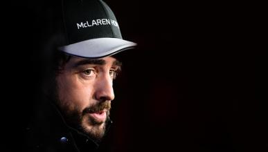 Fernando Alonso debuta ante la prensa en Malasia