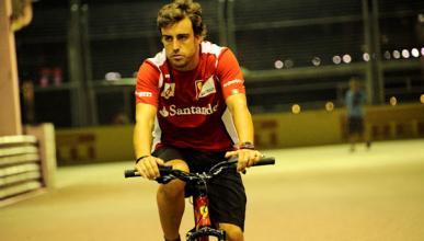 Fernando Alonso - equipo ciclista