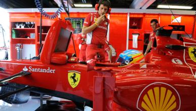 Fernando Alonso - Ferrari - GP Italia - Monza - box