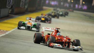 Fernando Alonso - Ferrari - GP Singapur - 2012