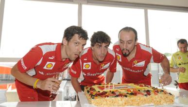 Fernando Alonso - Ferrari - Hungría - Cumpleaños 2012