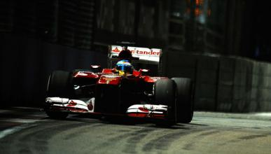 Fernando Alonso - Ferrari - Singapur
