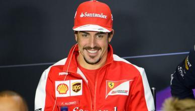 Fernando Alonso GP Gran Bretaña F1 2013
