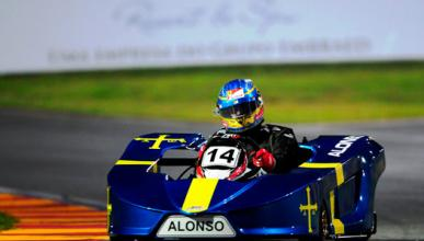 Fernando Alonso - karts - Brasil - 2013