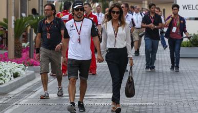 Fernando Alonso y Lara Álvarez rompen su relación