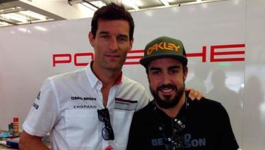 Fernando Alonso en Le Mans con Porsche, cada vez más cerca