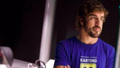 Fernando Alonso, más cerca que nunca del karting