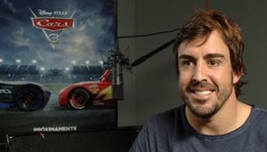 """Fernando Alonso participa en la película """"Cars 3"""""""