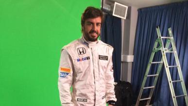 Fernando Alonso se pone el mono de McLaren-Honda ¡por fin!