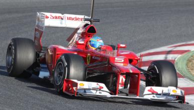 Fernando Alonso Test Montmelo 2012