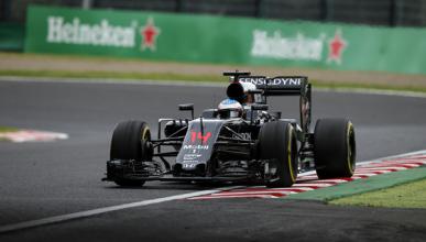 """Fernando Alonso se ve """"rozando la Q3"""" en Japón"""